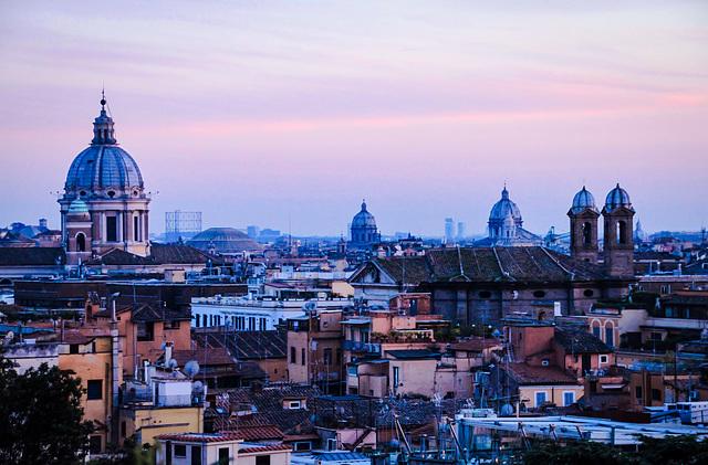 Rom - Blaue Stunde