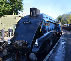 Magnificent Sir Nigel Gresley Arriving at Pickering