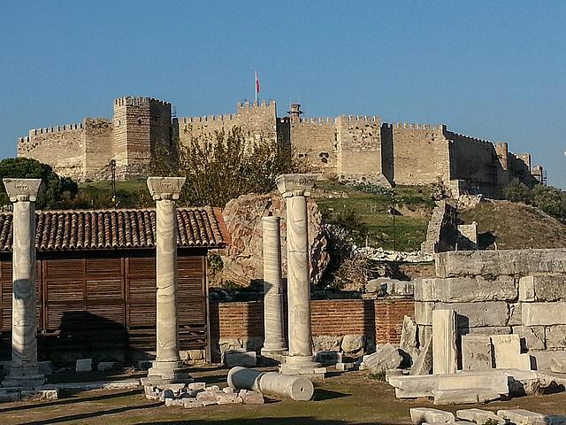 20151206 145229Hw [R~TR] Byzantinische Festung, Johannes-Basilika, Selcuk