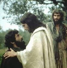 Vi estas Petro, mi donos al vi la ŝlosilojn  de la regno de la ĉielo