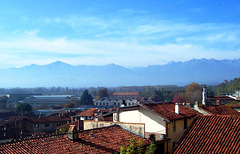 IT - Agliè - View from the Castello Ducale