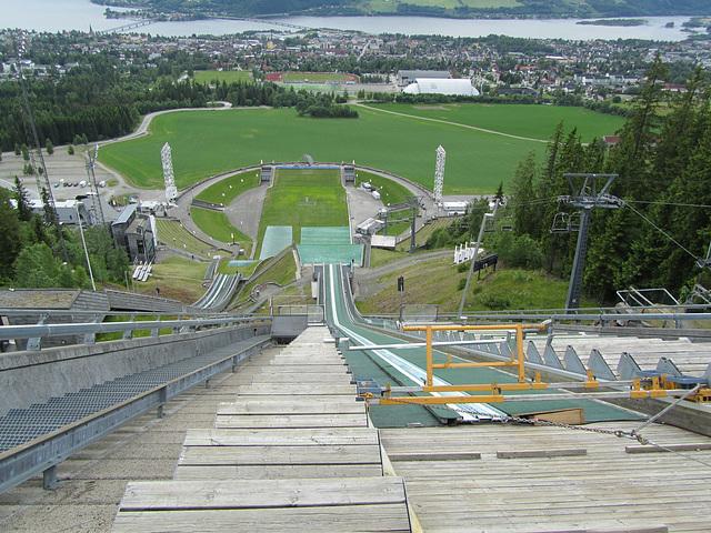 Lillehammer, Skisprungschanze