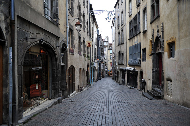Dans les rues de Clermont