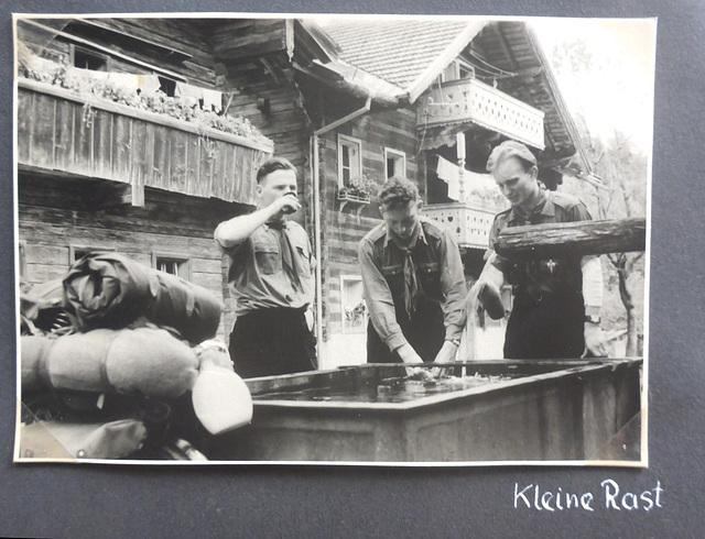 Jugoslawien - Radtour - 4.8. - 17.9.1955 - Erfrischung