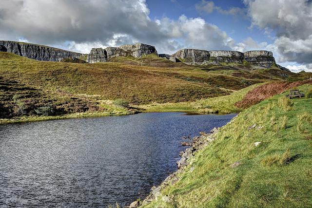 Lochan nan Dùnan & the Trotternish Ridge/Quiraing, Isle Of Skye