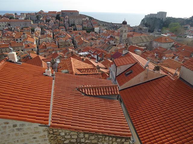 Les toîts de Dubrovnik, 5.