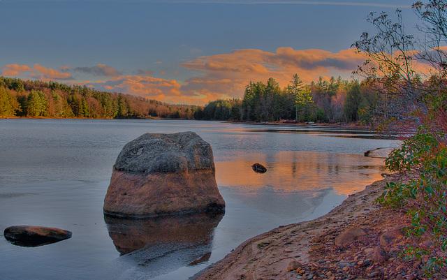Hammond Pond late fall