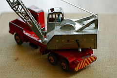 Dinky Supertoys Number 972: The 20 Ton Lorry-Mounted Crane