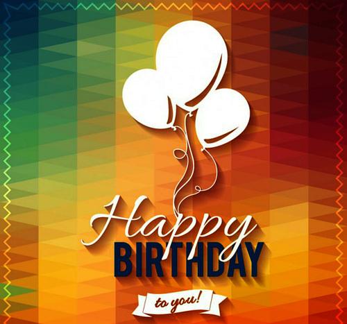 Joyeux anniversaire .