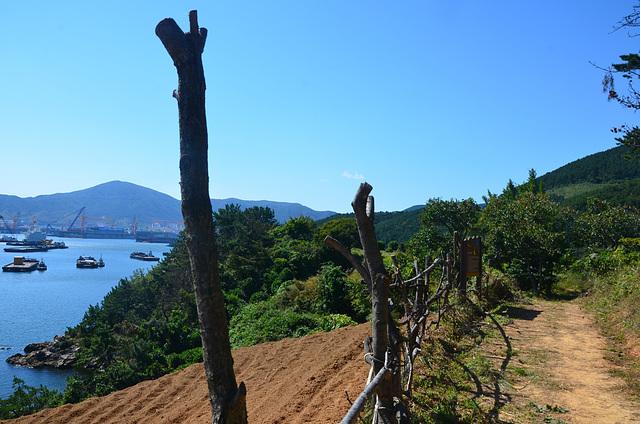 Okpo Bay coastal walk