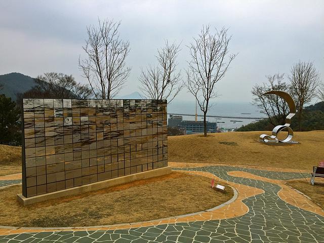 Okpo sculpture park