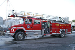 Fire And Rescue Ladder Truck No. 6