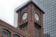 Whirlpool-Britannica Clock Tower – Reid, Murdoch & Co., LaSalle Street, Chicago, Illinois, United States
