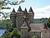 le chateau de VAL -CANTAL -