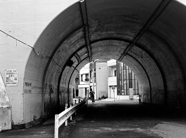 Tunnel in town
