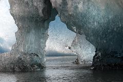 Ice shapes, Vatnajökull , Jökulsárlón