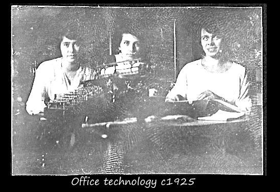 Office technology c1925