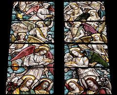 Detail of Emma Walker Memorial Window, Chesterfield, Derbyshire