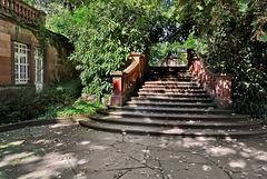 Worms - Die Treppe zum Heylshofpark