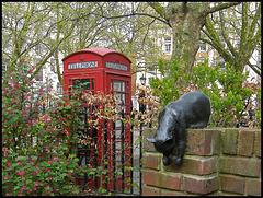 Patricia Penn cat memorial