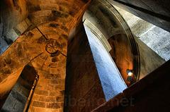 Interior da torre de Hércules