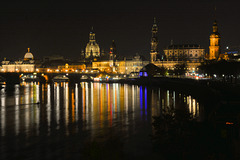 Dresden bei Nacht (3xPiP)