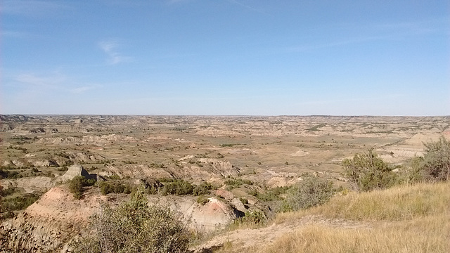 L'immensité du Dakota....