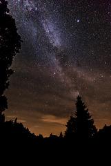 Milchstraße überm Basaltsee - 20150809