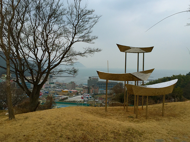 Okpo sculpture park