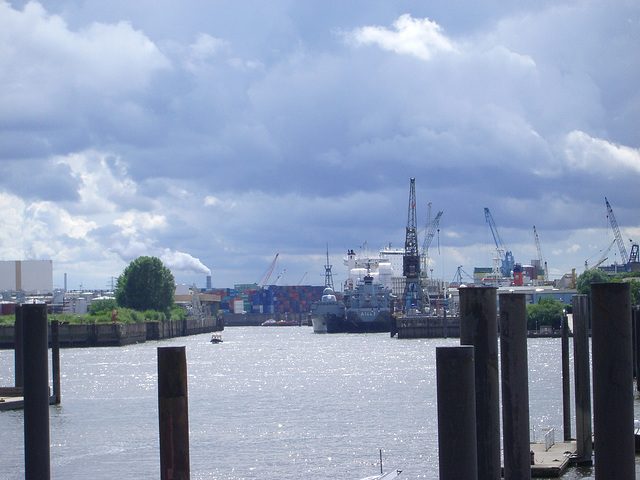 Hamburg - port