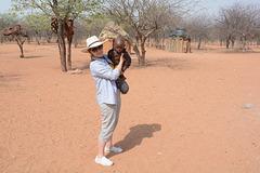 Namibia, Visit to the Himba Village of Onjowewe