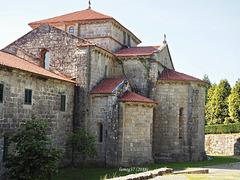 Abside de la iglesia del monasterio cisterciense de Armenteira.