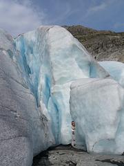 Ice labyrinth of Haugabreen