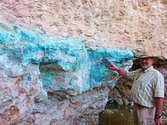 In der Steiner Mine (Dioptas)