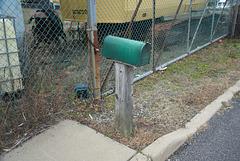 Belford Marine Railway mailbox