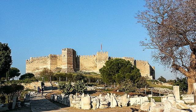 20151206 151217Hw [R~TR] Byzantinische Festung, Johannes-Basilika, Selcuk