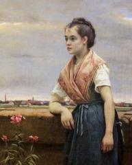La jeune marchande