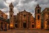 Catedral de La Habana al atardecer