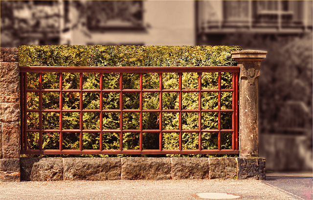 Senior Living Residence Fence