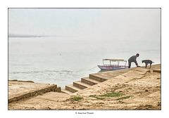 L'Inde minimaliste par temps de brouillard