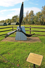 Memorial at Thorpe camp to RAF Woodhall Spa ~ Lincolnshire
