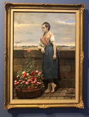 La petite marchande de fleur (1890)