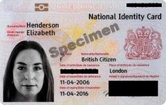 Britischer Ausweis