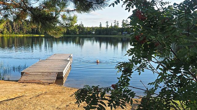 Davy Lake, Northern Ontario.