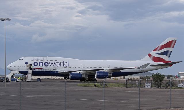 British Airways Boeing 747 G-CIVD