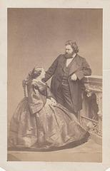 Ludwig Schnorr von Carolsfeld and Malvina Garrigues by Holzer