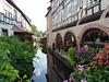 Wissembourg neben dem Touristenstrom