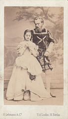 Pauline Lucca and Albert Niemann by Lehmann
