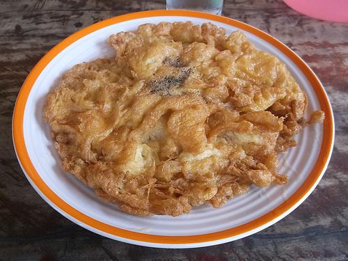 Omelette thaïlandaise / Thaï omelette breakfast