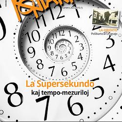 La Supersekundo kaj tempo-mezuriloj - Kontakto 2015:1